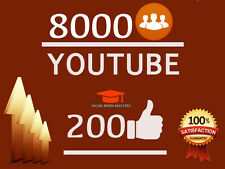 8K YouTube-Video-Views + 200-likes | The Best Quality Fast Safe