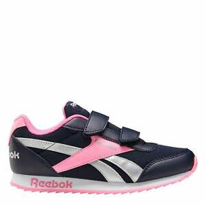 Reebok Jogger RS Childrens Sneakers Girls Runners Panelled Upper Everyday