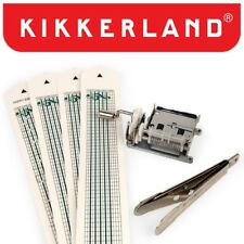Kikkerland Mechanical Music Box Set 1200 DIY Kit Customizable Songs