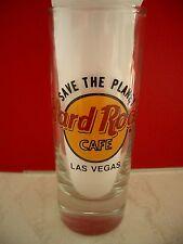 HRC hard rock cafe las vegas STP Save the Planet shotglass vasos de ginebra New