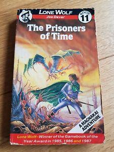 Lone Wolf The Prisoners Of Time Joe Dever Gamebook A Magnakai Adventure