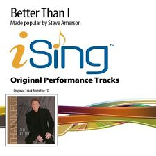Steve Amerson - Better Than I - Accompaniment Track