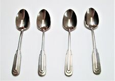 4 pieces - Vintage Zepter Stainless Steel 18/10 Coffee Edelstahl Spoons 4.5""