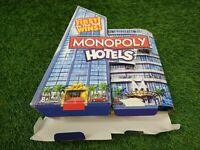 """Monopoly Hotels Board Game by Hasbro in """"VGC"""""""
