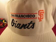 Vintage San Francisco Giants White  Snapback Hat