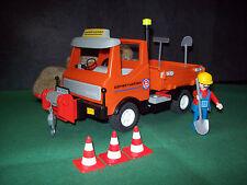 Playmobil ***Rarität*** Bau-Truck 3755-A/1989, ohne OVP!