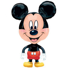 MICKEY MOUSE WALKING FOIL MYLAR BALLOON ~ Birthday Party Supplies Decorations