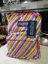 MULTI TEXTURE STRIPE JANSPORT SUPERBREAK BACKPACK