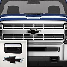 84346558 Chevrolet Silverado OEM Black Bowtie Emblem Package NEW Free Shipping