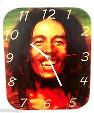 Sveglia da parete, orologio BOB MARLEY wall clock wood