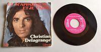 Ref 195 Vinyle 45 Tours Christian Delagrange Tu M'appartiens Et Je T'aime