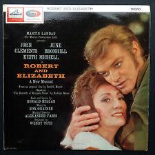 Martin Landau Presents Ron Grainer's ROBERT & ELIZABETH stage soundtrack LP 1964