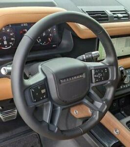 Land Rover OEM Defender L663 90 Or 110 Dark Grey Steering Wheel Cover Brand New
