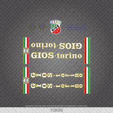 01368 Gios Professional Bicycle Stickers - Decals - Transfers
