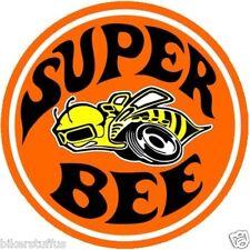 NOSTALGIC DODGE SUPER BEE HARD HAT STICKER HELMET STICKER ROUND LAPTOP STICKER