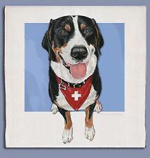 Greater  00004000 Swiss Mountain Dog Dish Towel