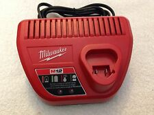 NEW Genuine Milwaukee 48-59-2401 M12 12V Lithium Ion Battery Charger 12 Volt