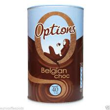 Options Belgian Choc, Luxury Hot Chocolate Drink 825g