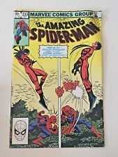 The Amazing Spider-Man #233 All pics are real  1982 MARVEL COMICS