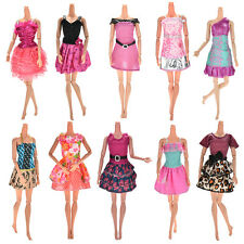 10 Pcs Party Wedding Dresses Clothes Gown For Barbie Dolls Girls Random StyleEP
