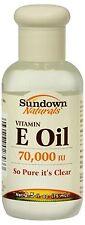 Sundown Naturals Vitamin E Oil 2.50 oz (Pack of 9)
