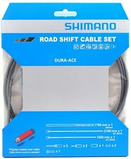 Shimano Dura Ace 9000 Road Polymer Shift Cable Set w/ FREE End Cap x3, Gray