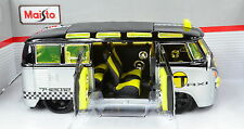 VW Volkswagen T1 Samba Conversion Hot Rod Taxi Scale 1:25 Von Maisto