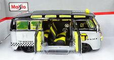VW Volkswagen T1 Samba Umbau Hot Rod Taxi Maßstab 1:25 von maisto