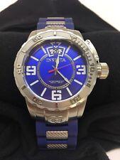Pre-owned INVICTA Men's Corduba Wristwatch - #10606 Blue