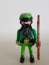 PLAYMOBIL Soldado CONFEDERADO SHARPSHOOTER ACW GUERRA CIVIL SUDISTA civil war 1