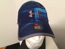 NEW Mens Under Armour Blue Baseball Hat Adjustable One Size Fits All New w/Tag