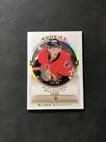 2015-16 UD BLACK DIAMOND NOAH HANIFIN ROOKIE SINGLE DIAMOND RELICS #ed 54/99