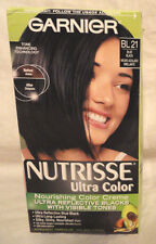 GARNIER NUTRISSE ULTRA COLOR NOURISHING COLOR CREME HAIR COLOR #BL21 BLUE/BLACK