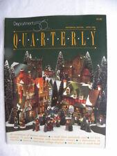 Dept. 56 January 1995 Quarterly Magazine Historical Edition