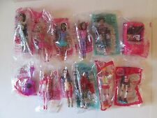 12 pc NIP MCDONALDS 2014 2015 BARBIE LIFE IN THE DREAMHOUSE & My Scene Car Doll