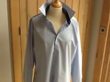 """MEN'S OLYMP - Level 5 Body Fit Shirt Blue and White check 16.5"""""""