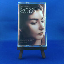 MARIA CALLAS: The Best of Romantic Callas (OUT OF PRINT EXTREMELY RARE CASSETTE)