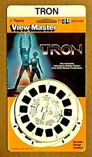 Viewmaster - Tron Factory Sealed 3-Reel Blister Card