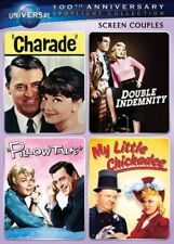 4movie Dvd Double Indemnity Charade Cary Grant Audrey Hepburn Barbara Stanwyck