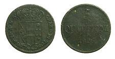 pci2724) Toscana Leopoldo II di Lorena (1824-1859) 5 Quattrini 1 Crazia 1826