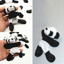 1x Réfrigérateur Aimant Autocollant Panda Doux Peluche Décor Maison Cuisine Mode