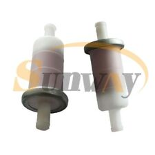 2x Filtre à Carburant Essence 10mm pour Honda VT600 VT750 NTV650 XRV750 XL1000