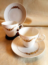 ROSENTHAL Medley Pattern 2 Cup and Saucer Sets (4 pieces)-Exc.- 3621
