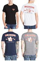 New! True Religion Brand Jeans Men's Double Puff Logo Horseshoe Tee T- Shirt
