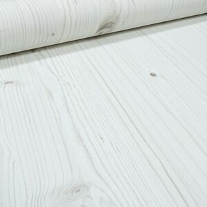 Wood Wooden Panels Planks Wallpaper Paste The Wall Off White Cream Textured