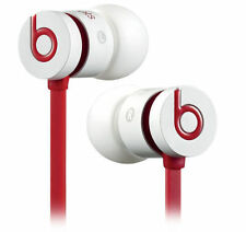Genuine Beats by Dre urBeats in Ear Earphones Headset White Red iPhone 5s 6s