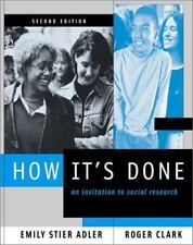 How It's Done: An Invitation to Social Research-ExLibrary