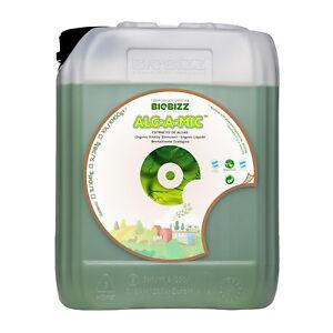 BioBizz ALG-A-MIC Organic Vitality Booster Additives Vitamins Plant Hydro - 5L