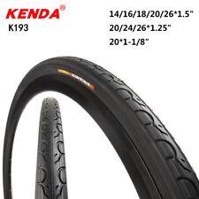 Kenda Bicycle Tire 14/16/18/20/24/26in*1.25 1.5 Ultralight Bike Tyres Tires K193