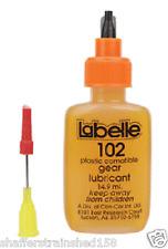 Labelle # 102  Plastic Compatible Gear Lubricant w/PTFE A Scale MIB
